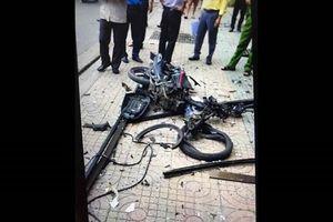 TP.HCM: Truy bắt 2 nghi can ném vật gây nổ trước trụ sở công an phường