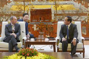 Hà Nội hỗ trợ tổ chức các hoạt động kỷ niệm 45 năm quan hệ Việt Nam - Vương quốc Anh