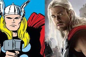 Tạo hình trong nguyên tác của các siêu anh hùng Marvel khiến bạn có cái nhìn khác về họ