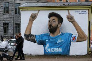 14 tác phẩm graffiti độc đáo lấy cảm hứng từ World Cup 2018 ở Nga