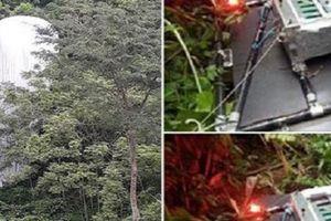 Tin mới vụ phát hiện 'vật thể lạ' phát sáng rơi xuống rừng ở Hà Giang