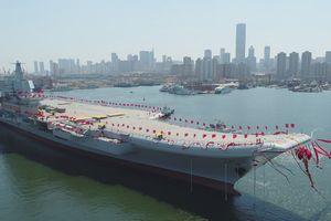 Tàu sân bay Trung Quốc được trang bị hệ thống phóng tiên tiến nhất của Mỹ?