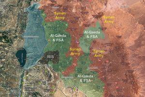 Tiến tới biên giới Iraq, quân đội Syria 'nhốt chặt' căn cứ chiến lược của Mỹ ở Al-Tanf
