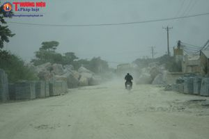 Thanh Hóa: Sản xuất đá 'tra tấn' cuộc sống hàng trăm hộ dân