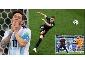 Thủ môn sai lầm, Messi vô hại, Argentina gặp ác mộng khó ngờ