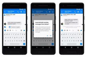 Ứng dụng Facebook Messenger bổ sung thêm tính năng Dịch các bình luận