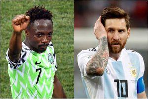 Người hùng Nigeria tuyên bố ghi bàn vào lưới Argentina, đánh bại Messi