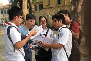 6 ngày nữa mới chính thức công bố điểm chuẩn vào lớp 10 của Hà Nội