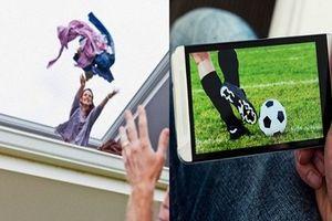 Vợ nổi điên vì chồng mặc con khóc ngằn ngặt, lén lút bỏ nhà đi xem World Cup