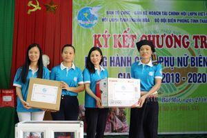 'Đồng hành cùng phụ nữ biên cương' tại xã Bát Mọt