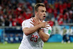 Cầu thủ Thụy Sĩ lên tiếng sau vụ ăn mừng bàn thắng gây xôn xao