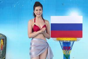 Nữ MC mặc bikini dẫn World Cup trên kênh truyền hình Việt là ai?
