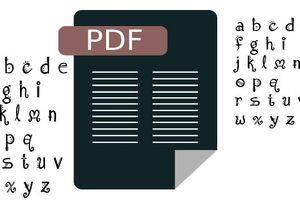 Cách trích xuất Font chữ từ file PDF