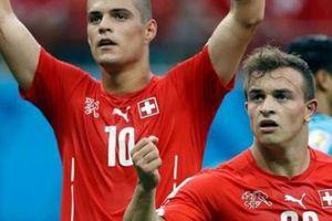2 ngôi sao Thụy Sĩ bị FIFA trục xuất khỏi World Cup 2018?