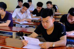 Nghệ An có 21 điểm thi 'trắng' thí sinh thi tổ hợp môn KHTN