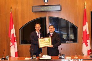 Thúc đẩy hợp tác nghị viện và trong CPTPP giữa Việt Nam-Canada