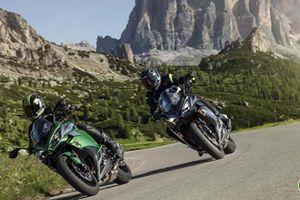 Kawasaki Ninja 1000 2019 trình làng, cập nhật thẩm mỹ, giá không đổi