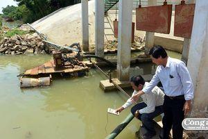 Hạ lưu sông Vu Gia-Thu Bồn bị xâm nhập mặn nghiêm trọng