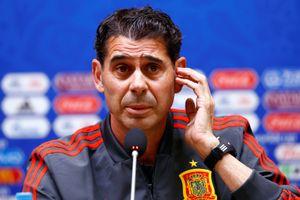 HLV Hierro muốn Tây Ban Nha đứng đầu bảng B World Cup 2018