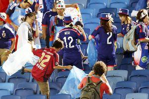 Cách cổ động viên Nhật, Senegal gây ấn tượng mạnh ở World Cup