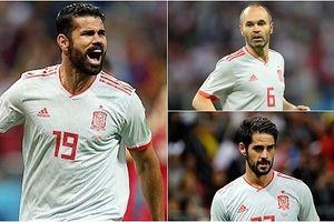 Đội hình tối ưu của Tây Ban Nha trước Morocco ở bảng B World Cup 2018
