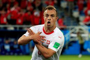 Xhaka, Shaqiri của Thụy Sĩ đối mặt án cấm thi đấu 2 trận