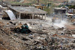 Israel dội bom không kích thủ đô Damascus của Syria