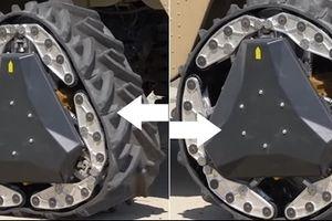 Mỹ phát triển lốp 'biến hình' giúp xe quân sự chấp mọi loại địa hình