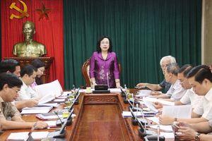 Phó Bí thư Thường trực Thành ủy Ngô Thị Thanh Hằng: Gắn thực hiện quy chế dân chủ với các nhiệm vụ chính trị