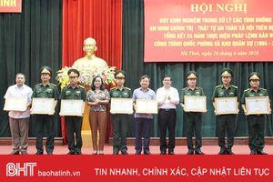 Tiếp tục thực hiện tốt nhiệm vụ bảo vệ công trình quốc phòng và khu quân sự