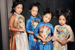 'Tuần lễ thời trang trẻ em Việt Nam' mùa 6 tổ chức trên vịnh biển đẹp nhất thế giới