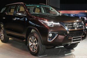 Toyota Việt Nam bất ngờ công bố giá bán Fortuner 2018