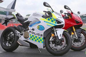 Siêu xe Ducati Panigale V4 gia nhập lực lượng cảnh sát Anh