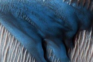 NASA tìm thấy cát xanh trên Hành tinh Đỏ?