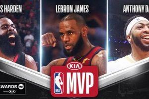Tổng hợp các giải thưởng cá nhân NBA mùa giải 2017-2018
