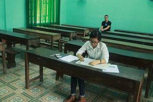 Thi tổ hợp môn Khoa học Xã hội: Có phòng thi chỉ được 1 thí sinh
