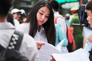 Sau môn thi THPT quốc gia sáng nay, gần 1 triệu thí sinh có thể thở phào kết thúc kỳ thi căng thẳng