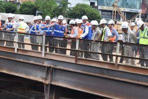 Đoàn đại biểu Quốc hội khảo sát dự án Metro Bến Thành - Suối Tiên