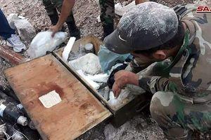 Quân đội Syria giải phóng 1800 km2 vùng sa mạc biên giới với Iraq