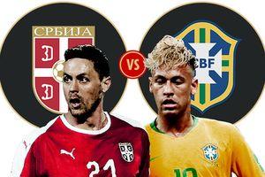 Kèo Serbia vs Brazil: Đánh úp 'cửa dưới'