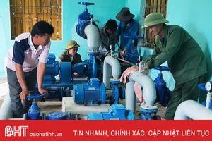 Mở rộng cấp nước cho người dân nông thôn Hà Tĩnh