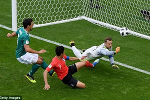 Đức 0-2 Hàn Quốc: Cỗ xe tăng 'lăn bánh' về nước, Đức tự gạch tên mình khỏi World Cup 2018