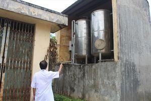 Bỏ hoang công trình xử lý chất thải hơn 7 năm
