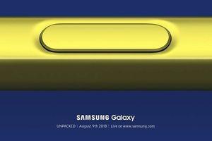 Samsung xác nhận Galaxy Note 9 ra mắt ngày 9 tháng 8 tới đây