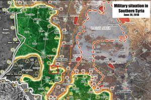 'Hổ Syria' tốc chiến hàng loạt làng mạc, chiến binh Hồi giáo tháo chạy về biên giới với Jordan