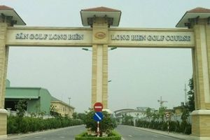 Hà Nội đề xuất cho xây biệt thự để bán trên khu sân golf và dịch vụ Long Biên
