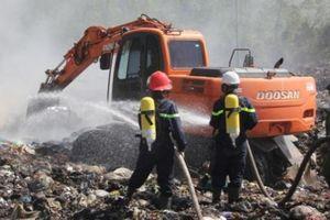 Vụ cháy bãi rác khiến 34 người nhập viện: Đám cháy đã được khống chế