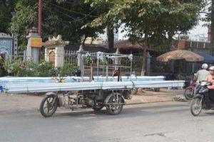 Hà Nội quyết trị xe tự chế