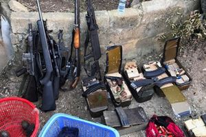 Trùm ma túy Nguyễn Thanh Tuân tàng trữ nhiều súng 'khủng' và quyết 'ăn thua' tới cùng