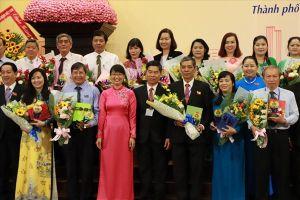 Bà Trần Thị Diệu Thúy tái đắc cử Chủ tịch LĐLĐ TPHCM